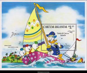 Caicos Islands Scott 46 Mint never hinged.