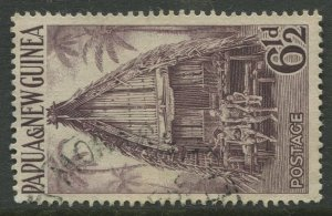 STAMP STATION PERTH Papua New Guinea #128 General Issue  Used 1952 CV$0.25
