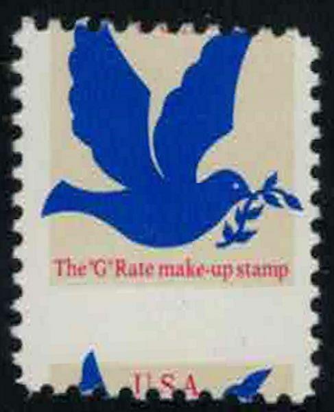 MALACK 2877 3c Make Up Rate, Misperfed NH  n4832