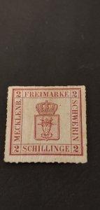 Germany Mecklenburg #6a Mint