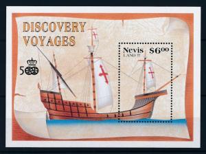 [81270] Nevis 1991 Ships Boats Columbus Sheet MNH