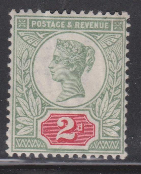 GREAT BRITAIN - Scott # 113 Mint Never Hinged - Stamp Has Creases CV $30