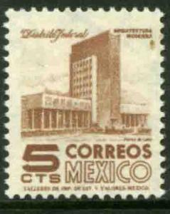 MEXICO 875, 5cents 1950 Definitive 2nd Printing wmk 300. MINT, NH. F-VF.