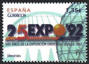 Spain. 2017. 5202. Sevilla World Exhibition 1992. MNH.