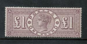 Great Britain #110 (SG #185) Mint Fine **With Certificate**