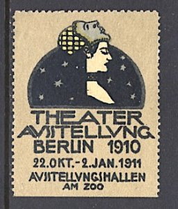 Germany Cinderella Theater Expo Berlin 1910