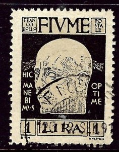 Fiume 95 Used 1920 issue    (ap3367)