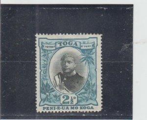 Tonga  Scott#  42  MH  (1897 George II)
