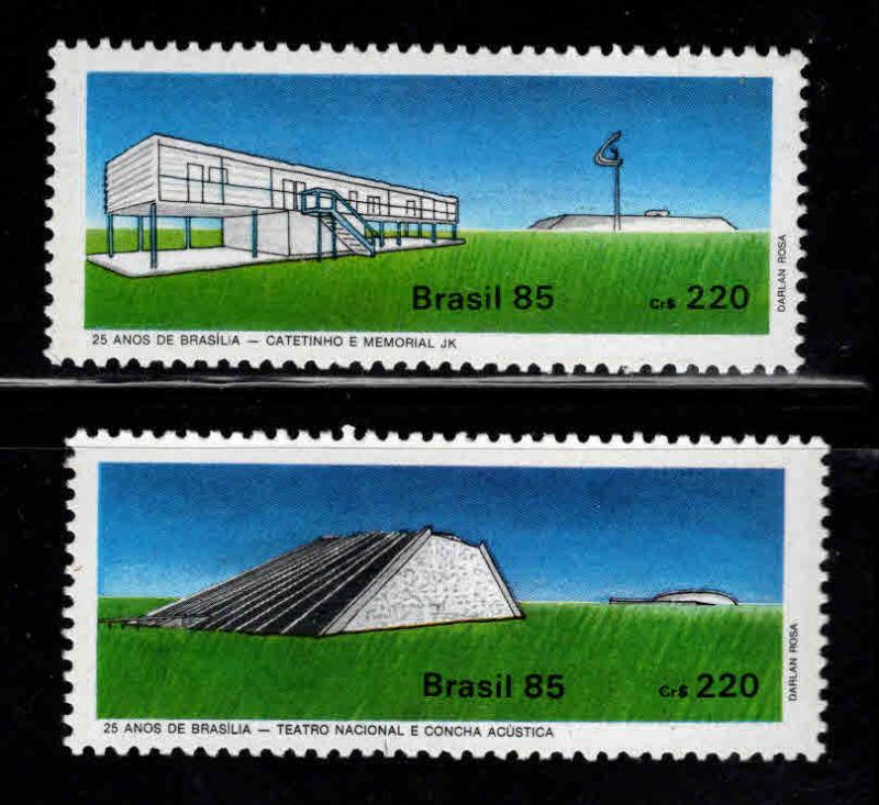 Brazil Scott  1983-1984 MNH** 1985 set