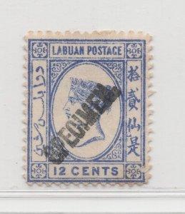Malaya Labuan - 1894 - SG55s - 12c - MH #683