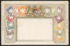 tGermany Bavaria embossed Ottmar Zieher stampcard No.42.