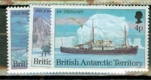 B: British Antarctic Territory 202-213 MNH CV $77.50; scan shows only a few