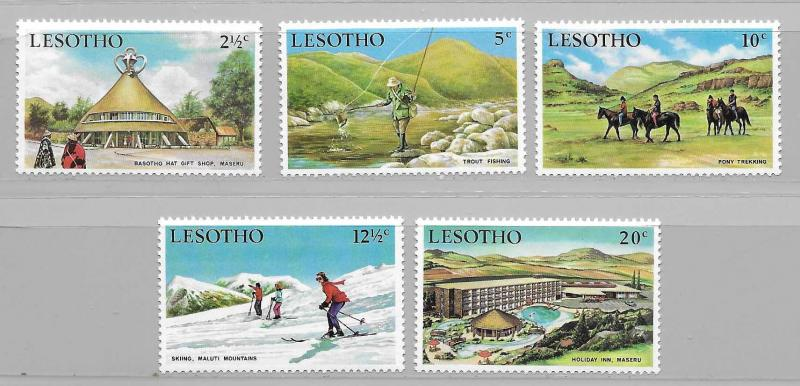 Lesotho 86-90 1970 Tourism set NH