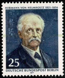 GERMANY BERLIN 1971 150th ANNIVERSAY of HELMHOLTZ MINT (NH) SG B394 P.14 SUPERB