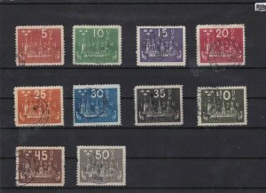 sweden 1924 u.p.u used stamps cat £200+ ref 7260