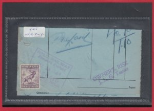 NFLD 5c Caribou revenue document 1944 Canada