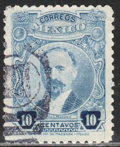 MEXICO 623, 10cents PERFORATED, USED.F-VF  (909)