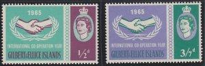 Gilbert and Ellice 104-105 MNH (1965)