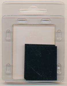 Prinz Scott Stamp Mounts Size 33 x 27 BLACK Background Pack of 40