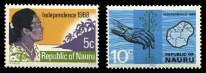 Nauru 86-87, MNH, Independence