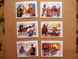 Libya - 1130-35, MNH Set. Women in Armed Forces; Revolution Anniv. . SCV - $8.90