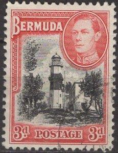 Bermuda; 1938: Sc. # 121: O/Used Single Stamp