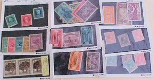 CUBA STAMPS 31 DIFF. #280/P30  MINT LIGHT HINGED cat.$115.00