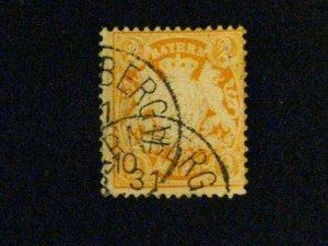 Germany-Bavaria #47 used  a209 1066