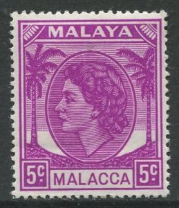 STAMP STATION PERTH Malacca #32 QEII Definitive MNH 1954-55