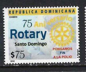 DOMINICAN REPUBLIC 1628 MNH ROTARY K108-5