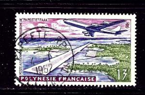 French Polynesia C28 Used 1960 issue