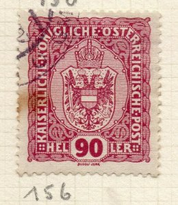 Austria 1915-16 F Joseph Early Issue Fine Used 90h. NW-119945