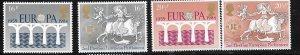 GB #1053-1056 EUROPA (MNH) CV $5.50
