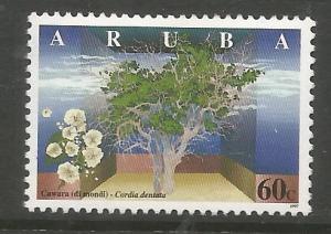 ARUBA  155  MINT HINGED,  CORDIA DENTATA