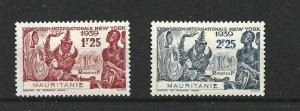 MAURITANIA  1939  NEW YORK FAIR SET    MH