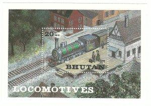 Bhutan  SS   Erzsebet   Mint NH VF  PD