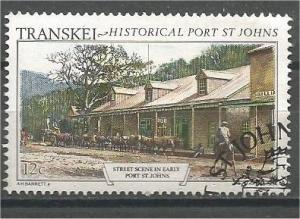 TRANSKEI, 1986, CTO 12c, Port St.Johns.Scott 167