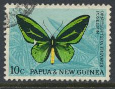 Papua New Guinea SG 86  SC# 213  Used - Butterflies see details