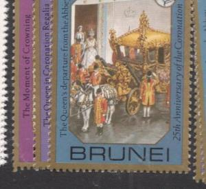 Brunei SG 267-9 Great Stamps Not Great Picture MNH (2dfh)
