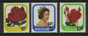 New Zealand Scott #693 to 695 (693-5), Three Stamp Complete Set, Overprinted ...