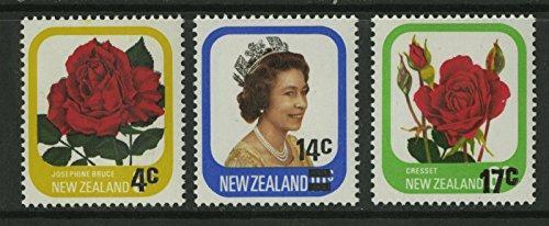 New Zealand Scott #693 to 695 (693-5), Mint Never Hinged MNH, Three Stamp Com...