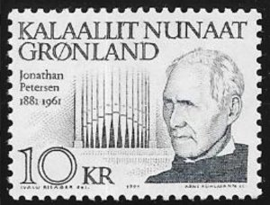 Greenland #242 MNH CV$4.75 Petersen Musician