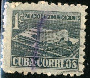 CUBA #RA16, USED - 1952 - CUBA097NS10