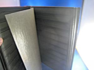 OVERSIZED STAMP STOCK BOOK - 14 DOUBLE SIDED 10 POCKET PAGES