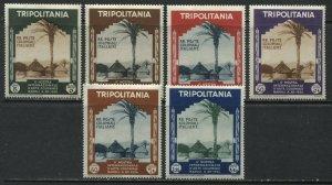 Tripolitania 1934 set mint o.g. hinged
