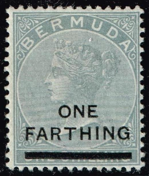 UK STAMP BERMUDA 11901 Not Issued Stamp Surcharged MH/OG