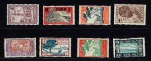 FRANCE STAMP France & Colonies  STAMP COLLECTION LOT #M3