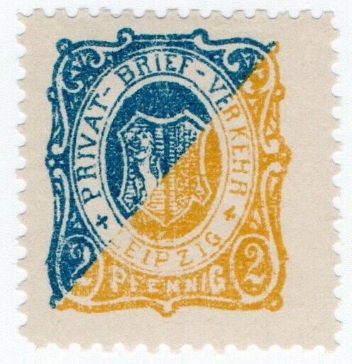 (I.B-CK) Germany Local Post : Leipzig 2pf (Arms)