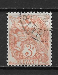 French Offices in Turkey 23 3c single Used