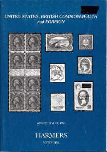 HR Harmer: Sale # 2868-2869  -  United States, British Co...